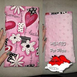 Reusable Heated Pet Pillow Rice Bag for dog or cat